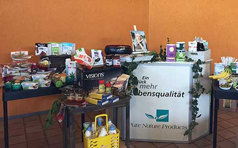 PureNature Vegan Shop beim Brunch