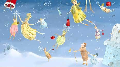Adventskalender online - tolle Überraschungen und Gratis-Geschenke warten.