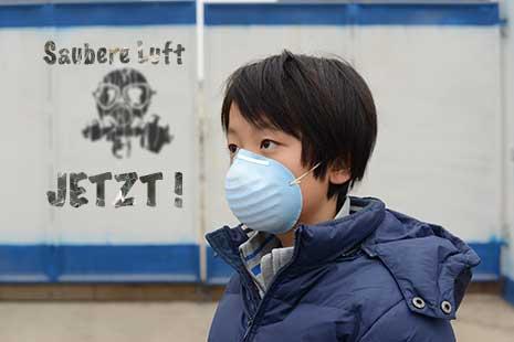 Atemschutzmaske gegen Feinstaub