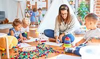 saubere Luft im Kindergarten