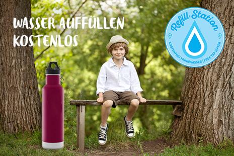 Refill - Trinkwasser kostenlos auffüllen