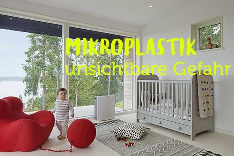 Mikroplastik aus der Luft entfernen
