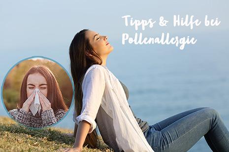 Hilfe bei Pollenallergie für Allergiker